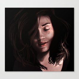Allison Argent Canvas Print