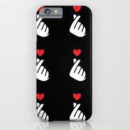 KPop Cute Heart - Korean K-pop iPhone Case