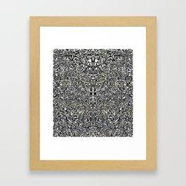 Mandalini by Kenny Rego Framed Art Print