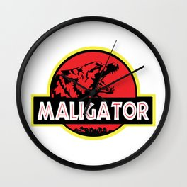 Maligator Wall Clock