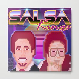 SALSA KINGS Metal Print