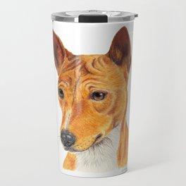 Basenji Travel Mug