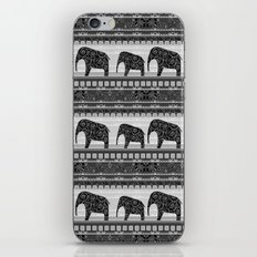 Ethnic ornament . Elephants iPhone Skin
