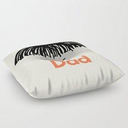 Dad Moustache Floor Pillow