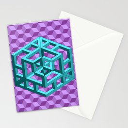 impossible patterns Stationery Cards