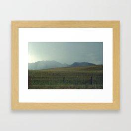 Flatiron Doom Framed Art Print