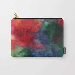 Watercolor turbulence Carry-All Pouch
