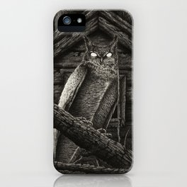 The Omen iPhone Case