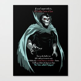 D'Spayre (7 Lords of Fear) Canvas Print