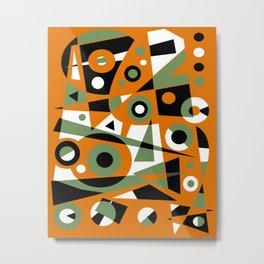 Abstract #977 Metal Print