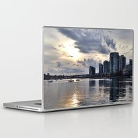 vancouver Laptop & iPad Skins featuring Vancouver  by amberino