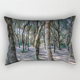 Maritime pine forest in Salento Rectangular Pillow