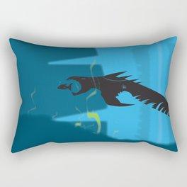Imminent Danger Rectangular Pillow