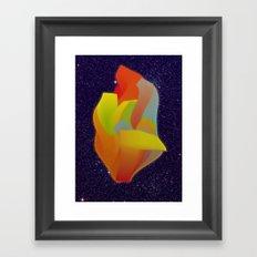 Shocking Colors Framed Art Print