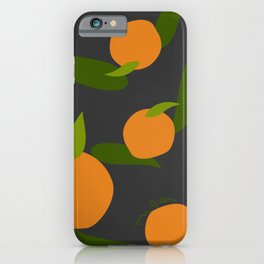 Mangoes in the dark iPhone Case