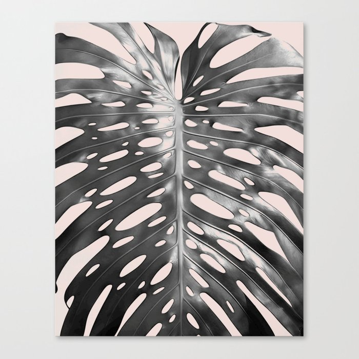 Palm veins Canvas Print