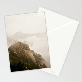 Golden Mountain Stationery Cards