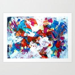 Contagious Dancing Art Print