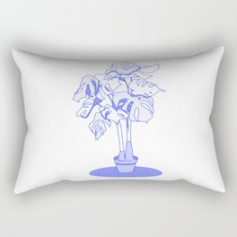 Swiss Cheese Plant Rectangular Pillow