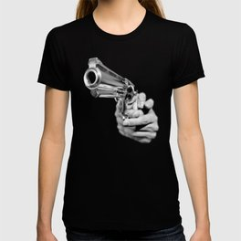 Aim and Shoot gun T-shirt