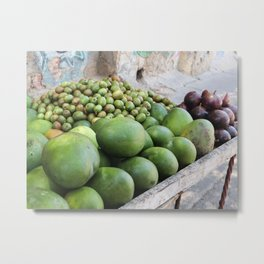 Tropical fruit cart in Cartagena | Colombia | Travel photography | Fine Art | Photo Print |  Metal Print