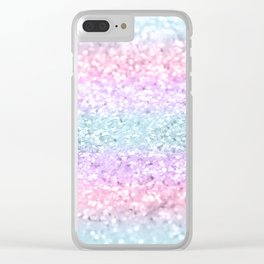 Unicorn Girls Glitter #11 #shiny #pastel #decor #art #society6 Clear iPhone Case