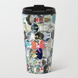 The Library of Babel Travel Mug