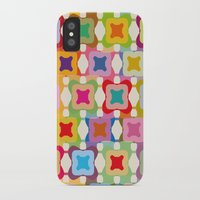 square iPhone & iPod Cases featuring Square by Helene Michau