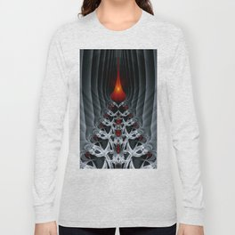 Fractal Art by Sven Fauth - Path to hell Long Sleeve T-shirt
