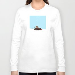 Brown Bear and Squirrel Long Sleeve T-shirt