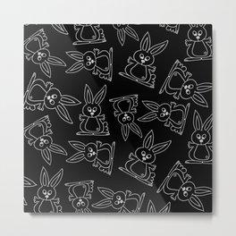 Bunny Rabbits Metal Print