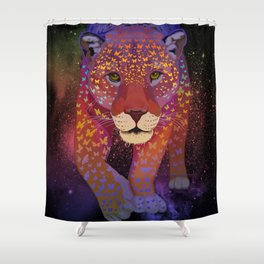 """Courage"" Shower Curtain"