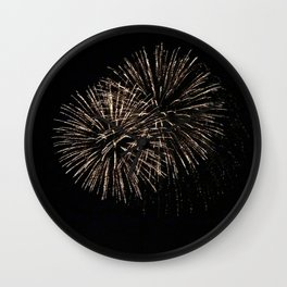 Fireworks 22 Wall Clock