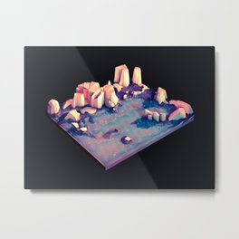 Rock Land Metal Print