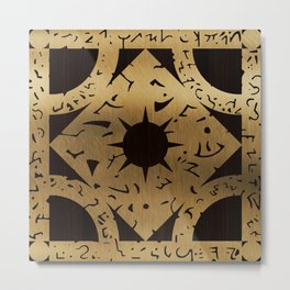 Lament Configuration Side F Metal Print