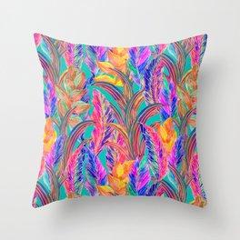 Tropic Exotic Throw Pillow
