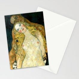 "Gustav Klimt ""Adam and Eve"" Stationery Cards"