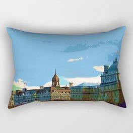 Old Montreal Rectangular Pillow