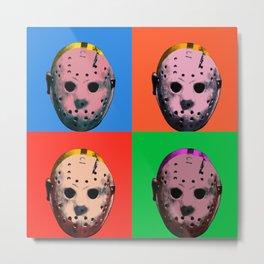 Warhol Friday Metal Print