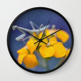 Praying for a Good Lunch Wall Clock