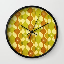 Mid Mod Mood Wall Clock