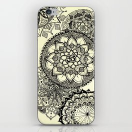 Mandala Cascade iPhone Skin