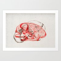 wildlife Art Prints featuring Wildlife VII by The White Deer