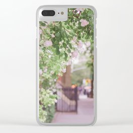 West Village in Bloom Clear iPhone Case