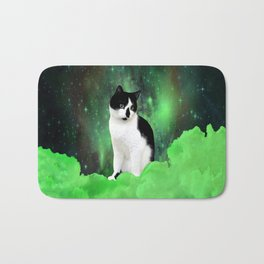 Gypsy Da Fleuky Cat and the Kitty Emerald Night Bath Mat
