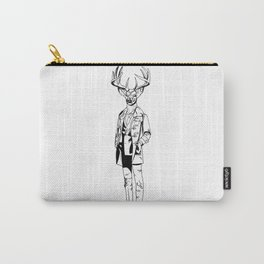 Gentle Deer / B&W Carry-All Pouch
