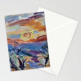 Coucher de Soleil, Abeille Stationery Cards