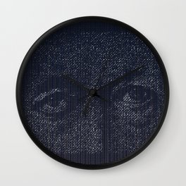 Leviathan: Jonah in the Belly of the Fish Wall Clock