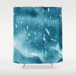 Snow-footed Shower Curtain