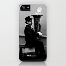 Tuba Fire iPhone Case